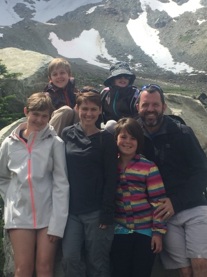 My family up in Whistler BC